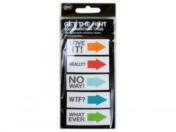Wholesale Get The Hint Exclamation Sticky Note Tags