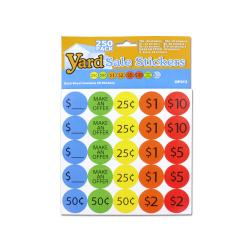 Wholesale Yard Sale Pricing Stickers