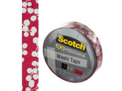 Wholesale Scotch Expressions Red Holly Washi Tape