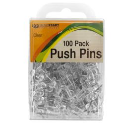 Wholesale Clear Push Pins